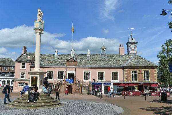 Carlisle Tourist Information Centre at the Old Town Hall