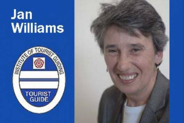 Jan Williams, North East England and Cumbria Blue Badge Guide
